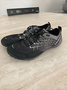 MERRELL Mens Hommes Barefoot Black/grey performance footwear Sneakers Size:10