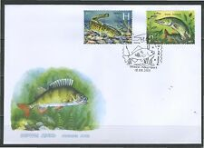 2011. Belarus. Fishes of Reservoirs. FDC