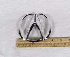 ACURA RDX TRUNK EMBLEM 13-17 BACK HATCH NEW OEM CHROME A BADGE sign symbol logo