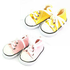 2 Pairs Doll Lace Up Sneakers Shoes for 18 inch AG American Doll Dolls Clothes