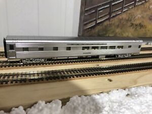 Walthers Proto, ATSF Dorm Car, Plated Finish, With Lights