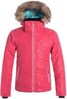 Roxy Girls American Pie Jacket, Ski Snowboard Winter Jacket,Size XL (14 Girls)