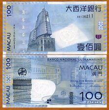 Macao / Macau 100 Patacas, 2005, P-82a, BNU, UNC