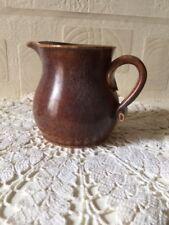 Rye Pottery Jug Small Leo Bonassera Rustic Jug Sussex England