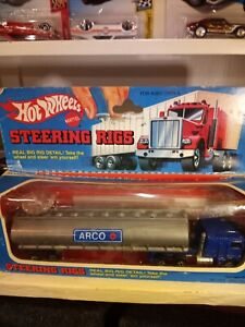 Vintage Hot Wheels Steering Rig ARCO KENWORTH TANKER Trucking mint