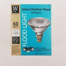 Westpointe 60w PAR38 Floodlight 25° Beam Indoor Outdoor Halogen Bulb 63202