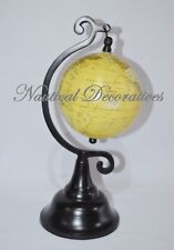 "Home Decor Vintage Style Beige Globes Decorative 5"" Hanging Ball Globe Gift"