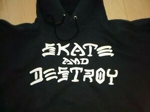 "Alter Thrasher Hoodie Kapuzenpulli ""Skate and destroy"""