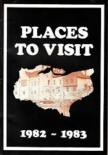 Places To Visit 1982-1983 6th Edition UK Kent County Council Booklet