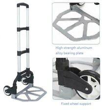 BLACK Folding Hand Truck Aluminum Portable Hand Cart 165lbs Home, Auto, Luggage