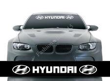 Reflective Front Windshield Decal Vinyl Car Sticker for HYUNDAI Auto Window Deco