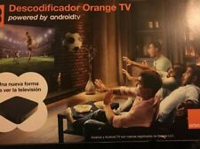 Decodificador Orange TV (tipo Androidtv)