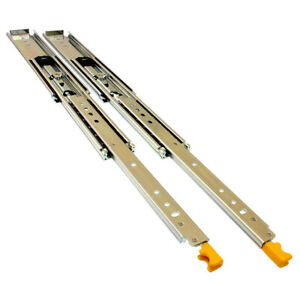 IRS Heavy Duty 227kg Drawer Slides (Locking) - Lengths: 355 - 1524mm