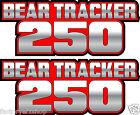 Bear Tracker 4x4 Red Gas Tank Graphics Decal Sticker Atv quad 250 300 plastic