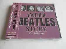 THE BEATLES ANOTHER BEATLES STORY 62-64 VOL1 CD JAPAN IMPORT OBI STRIP AB-01 NEW