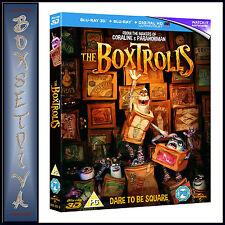 THE BOXTROLLS -  **BRAND NEW 3D BLU-RAY + BLU-RAY  **