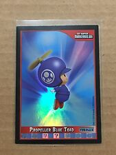 2010 Mario Bros. Wii Propeller Blue Toad Foil Card #F25!!!