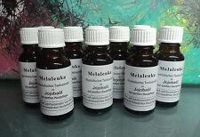 10 Melaleuka alternifolia in Jojobaöl, 10 x 20 ml Teebaumöl Original von Omega