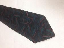 Mens Black Green Pink SILK Tie Necktie ~ FREE US SHIP (12499)