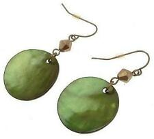 Drop earrings shell design IAS57