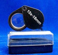 Black Jewelers Loupe 10x 18mm NIB FREE SHIPPING