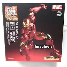 NEW Kaiyodo SCI-FI Revoltech No.024 Marvel Iron Man Mark VI Mark 6 Action Figure