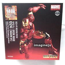 NEW Kaiyodo SCI-FI Revoltech No.024 Marvel Iron Man Mark VI Mark 6 Action Figure