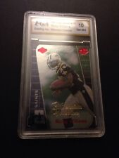 1999 Collectors Edge Triumph Ricky Williams Rookie Card #177 Graded 10.0