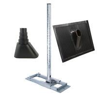 PremiumX DELUXE Dachsparrenhalter Mast 90cm Ø 60mm Dach Halter Abdeckung Tülle