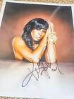 Kelly Rowland - Original Inperson Autogramm auf Foto