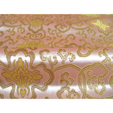 2m Brocart chinois-Chinese brocade-chinesischer Brokat-broccato-tissu satin-4