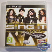 Disney Sing It Party Hits - PlayStation 3 PS3 Game PAL New Sealed 1st Class Post