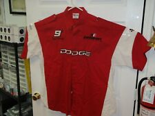 Vintage Chase Authentics Nascar Bill Elliot Dodge TEAM CREW SHIRT XXL 2X #9