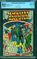 Justice League Of America #53 CBCS VF+ 8.5 Off White to White DC Comics