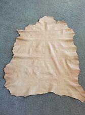 Italian Lambskin Leather - Naviglio Natural Color 6 SqFt