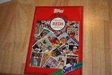 1987 Topps/Surf Book Baseball Cards Cincinnati Reds
