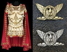 Roman Officers Mark Antony Armor Cleopatra brass silver eagle movie prop Ben Hur