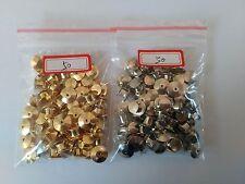 100pcs(silver 50 gold 50) fastener disney police locking lapel pin keepers backs