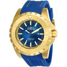 Invicta 23736 Pro Diver Ocean Master Date Blue Silicone Strap Mens Watch