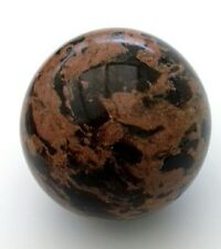 80mm Red Brecciated Poppy Jasper Sphere Natural Stone Polished New