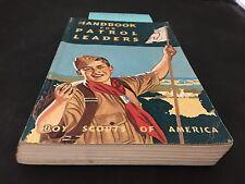 BOY SCOUT HANDBOOK FOR PATROL LEADERS DEC1963 VTG. BOY SCOUT BOOK PATROL LEADER