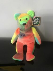Bamm Beano's Ken Griffey JR collectible plush bear #24