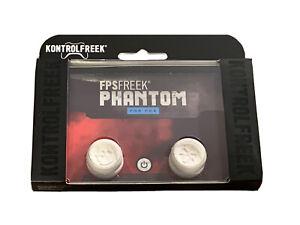 KontrolFreek FPS Freek Phantom Thumbsticks for PS4 PS5 New White Skull