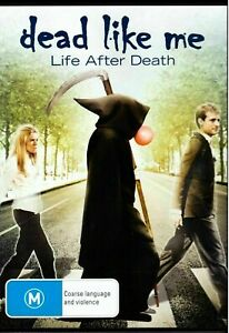 Dead like me life after death very good condition dvd region 4 t8080
