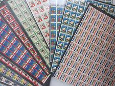 Huge Lot 1927-2000 CHRISTMAS SEALS-FULL SHEET Stamps Tuberculosis American Lung