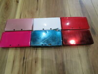 Nintendo 3DSx6  Lot of  6 Console Japan ver for parts Junk a62