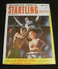 1953 May STARTLING STORIES Pulp Magazine v.30 #1 VG+ 4.5 Robot Girl Cover