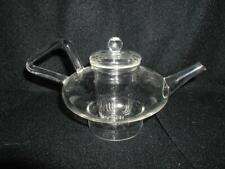 Heat Resistant Clear Borosilicate Glass Teapot With Infuser Tea Pot