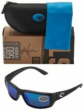 Costa Del Mar TF11OBMGLP Fantail Polarized Blue Mirror 580G Glass Sunglasses