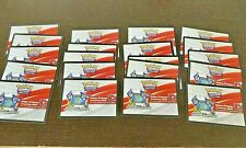 20x Pokemon TCG Online Code - Weg des Champs Flammende Clash Schwert Schild NEU